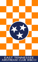 East Tennessee Club Flag