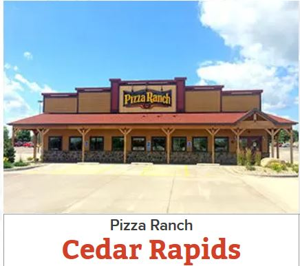 Pizza Ranch Cedar Rapids, Iowa