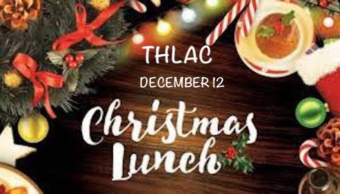 THLAC CHRISTMAS LUNCH