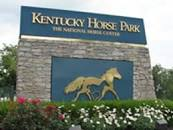 Gate at Kentucky Horse Park