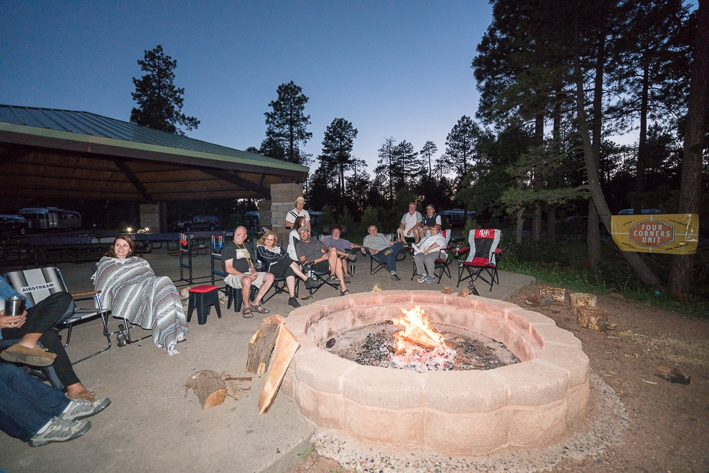 Four Corners Unit Rally at Crook Campground on the Mogollon Rim
