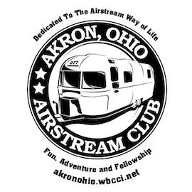Akron Ohio Airstream Club Logo - Small