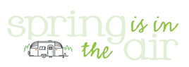 SPRING IS IN THE AIRstream Logo