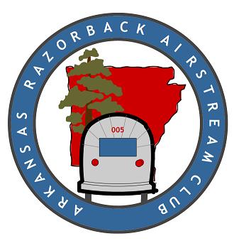 Arkansas Razorback Airstream Club Logo med